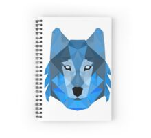 Abstract Wolf Spiral Notebook