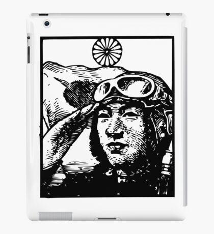 Japanese Aircraft Pilot iPad Case/Skin
