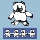 Teddy bear Dreams tee by Patricia Anne McCarty-Tamayo