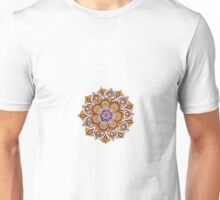 Hippy Mandala - Orange Edition Unisex T-Shirt