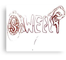 The Saweeet Words Right Out My Mouth! Canvas Print