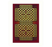 Celtic Gold Art Print