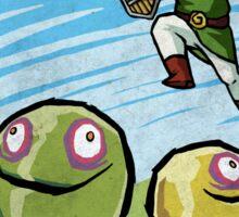 Link versus the ChuChus Sticker