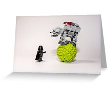 The Empire is not a circus (#2) Greeting Card