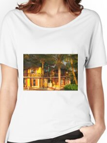 Hotel Mahekal at Playa del Carmen, Yucatan Peninsula, MEXICO Women's Relaxed Fit T-Shirt