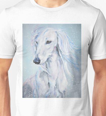 Saluki Fine Art Painting Unisex T-Shirt