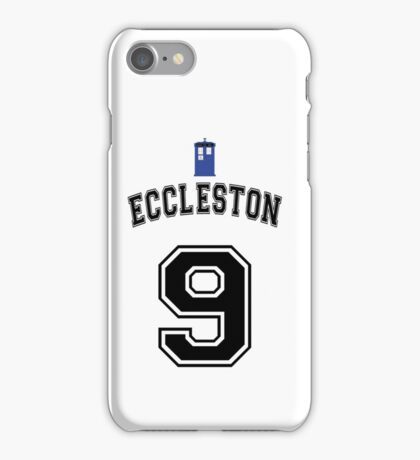 MY Doctor is Christopher Eccleston iPhone Case/Skin
