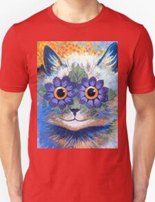 Flower Power Cat T Shirt Unisex T-Shirt