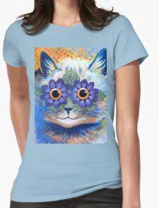 Flower Power Cat T Shirt T-Shirt