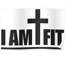 I Am Cross Fit Poster