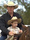 Father & Son - The New Generation #2 Western Tradition Lives On by WesternArt