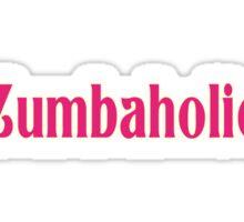 Zumbaholic Zumba Exercise T-Shirt Sticker