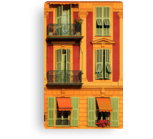 French Windows #2 Canvas Print