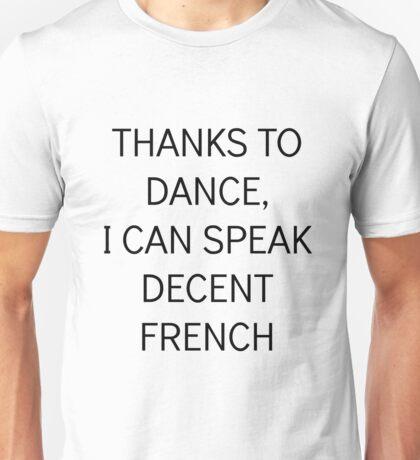 ENGLISH DANCE  Unisex T-Shirt