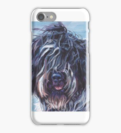 Schapendoes Fine Art Painting iPhone Case/Skin