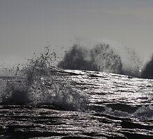 Wave Sculpture # 3 by Noel Elliot