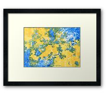 BY THE SEA SIDE Framed Print