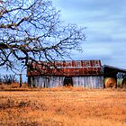 Hay Barn - Montague County, Texas by jphall
