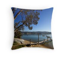 Merimbula Lake Throw Pillow