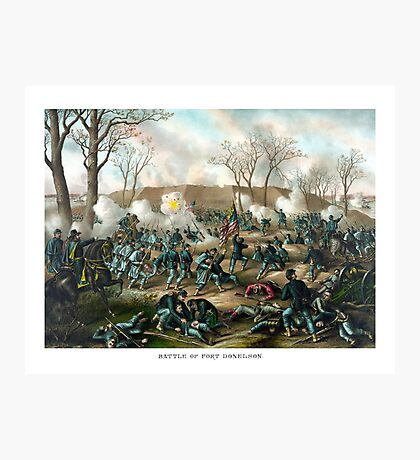 Battle of Fort Donelson -- Civil War Photographic Print