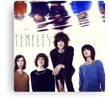Temples Band Canvas Print