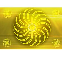 Solar Plexus ~ Yellow ~ Manipura ~ Male Photographic Print