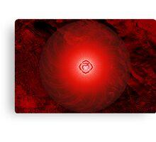 Base Chakra ~ Red ~ Mulahadra ~ Male Canvas Print