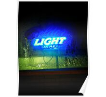 How About A Frosted Glass of Ice Cold Beer ! Poster