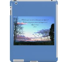 Dream it, begin it now. iPad Case/Skin