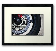 Big Wheels Keep on Turning Framed Print