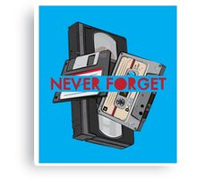 Never Forget - 1 Canvas Print