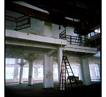 level up - holga - factory findings Photographic Print