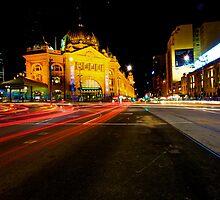 Flinders Street Station by Nathan Richards