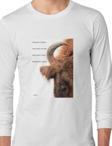 Wisdom, strength and power Long Sleeve T-Shirt