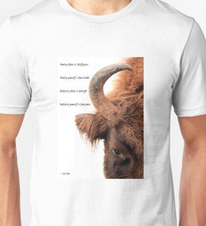 Wisdom, strength and power Unisex T-Shirt