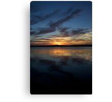 Warner Bay Summer Sunset - Vertical Canvas Print