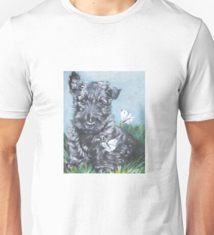 Scottish Terrier Fine Art Painting Unisex T-Shirt