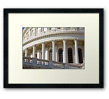Capitol Curve Framed Print