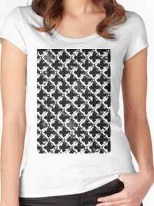 Lattice #1 Women's Fitted Scoop T-Shirt