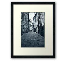 Radicofani Framed Print