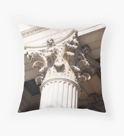 Rich Corinthian capitals Throw Pillow