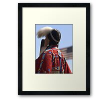 Colours of Life #2 Iconic- Native American Culture Lives On Framed Print