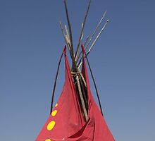 Tipi Tip #3 Iconic - Native American Culture Lives On by WesternArt