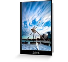 Pyrmont Bay Sunrise - Darling Harbour, Sydney, Australia Greeting Card