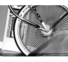 Lowrider Bike Photographic Print