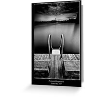 Pyrmont Pond Greeting Card