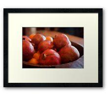 Super Fruit Framed Print