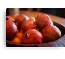 Super Fruit Canvas Print