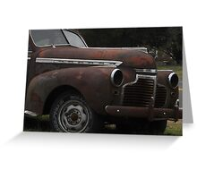 Old Rusty Automobile - Tennessee Greeting Card