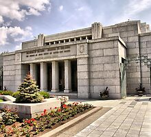 Cardston Alberta Temple by Vickie Emms